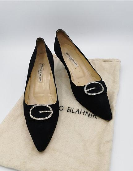 Beautiful Classic Manolo Blahnik Diamanté Shoes