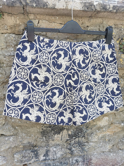 Fabulous 1960s Patterned Summer Shorts by Tergal
