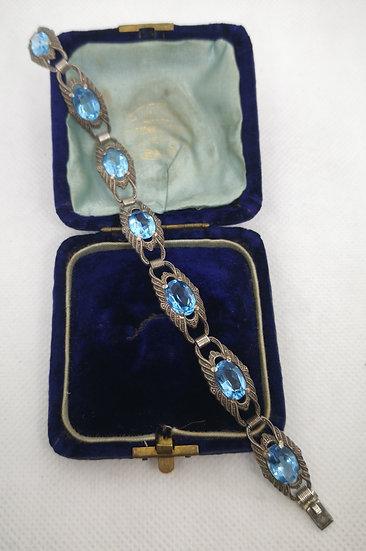 Art Deco German Silver Bracelet