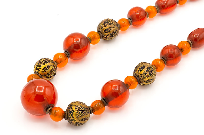 Art Deco Bakelite French Necklace