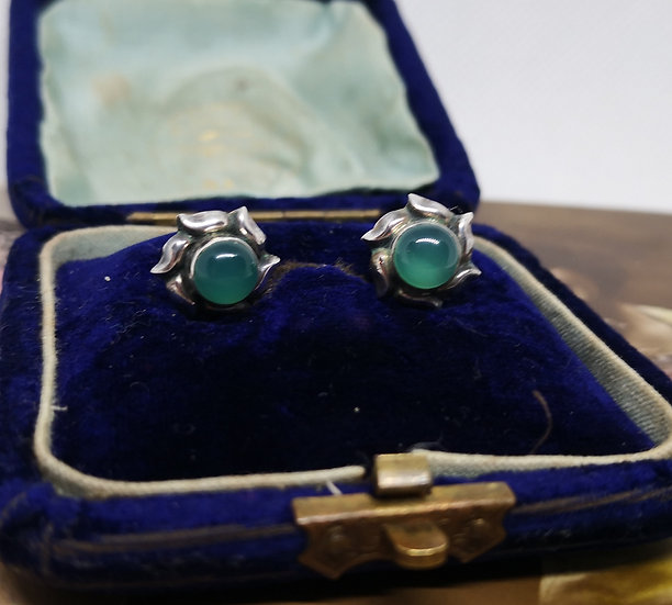 Silver and Apatite Studs