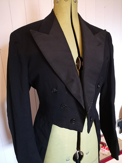 1920's Mourning Tail Coat