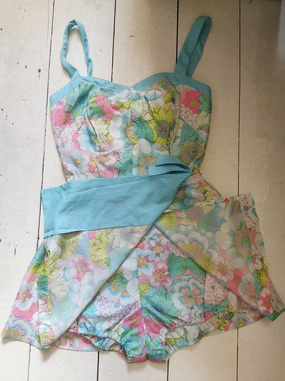 Fabulous 1960's Swimsuit From Gabar New York