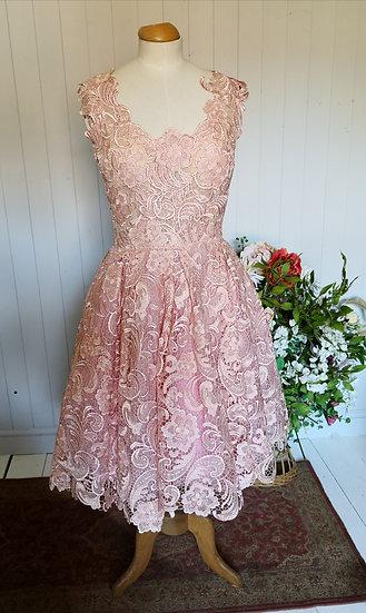 Chotronette Stunning Blush Pink Gown