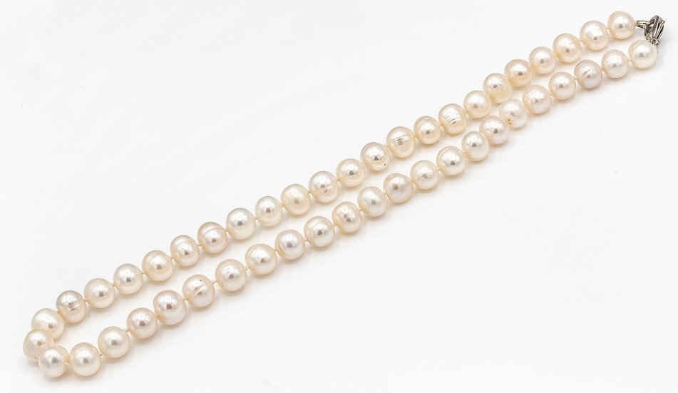 Chunky Fresh Water  Pearl Necklace