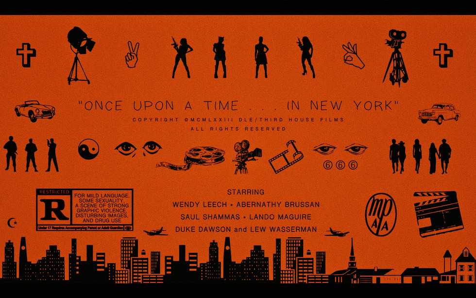 ONCE UPON A TIME IN NEW YORK