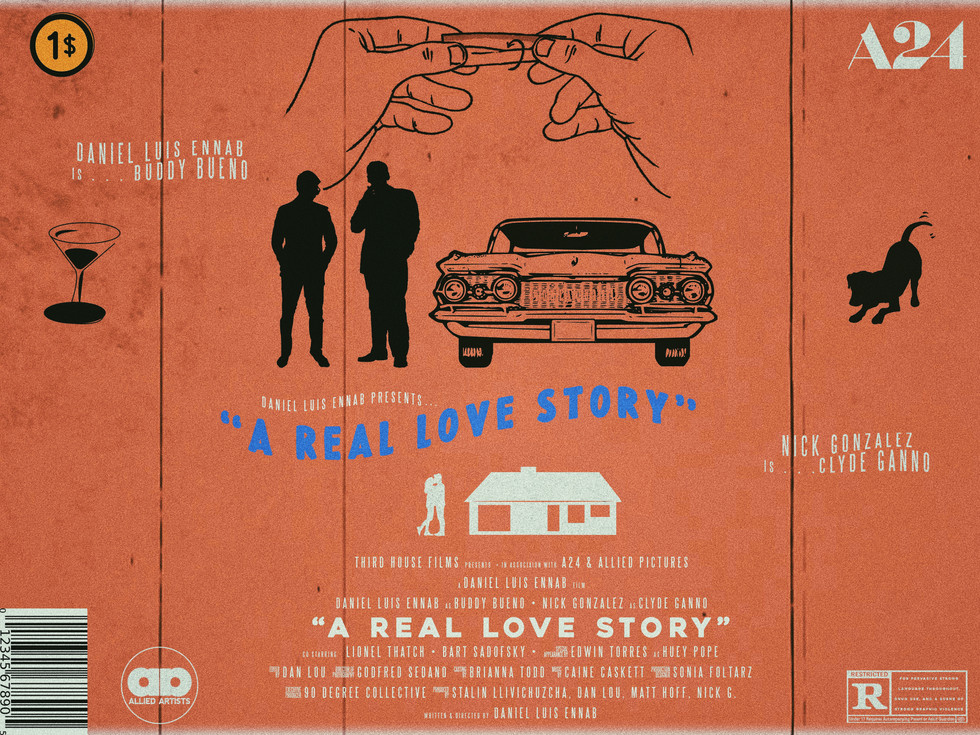 A REAL LOVE STORY POSTER