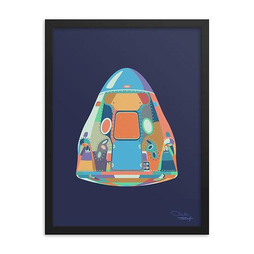 Dragon Capsule - Framed Print