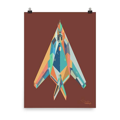 F117 Nighthawk - Print
