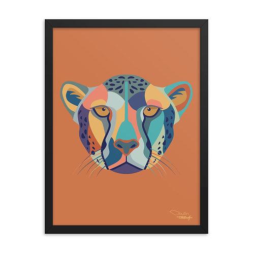 Cheetah - Framed Print