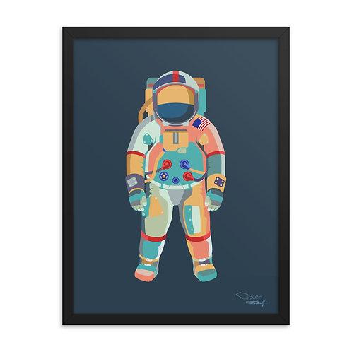 Astronaut - Framed Print