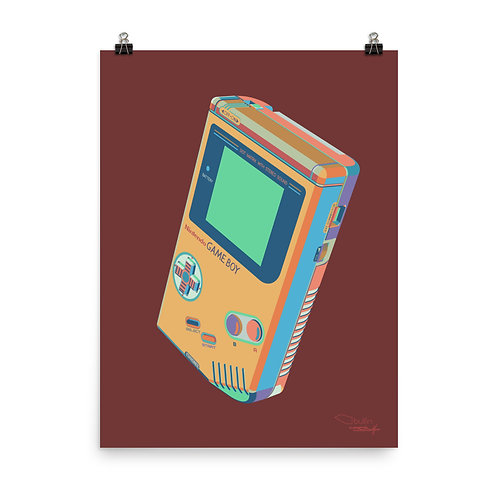 Nintendo GameBoy - Print