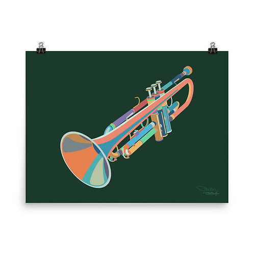 Trumpet - Print
