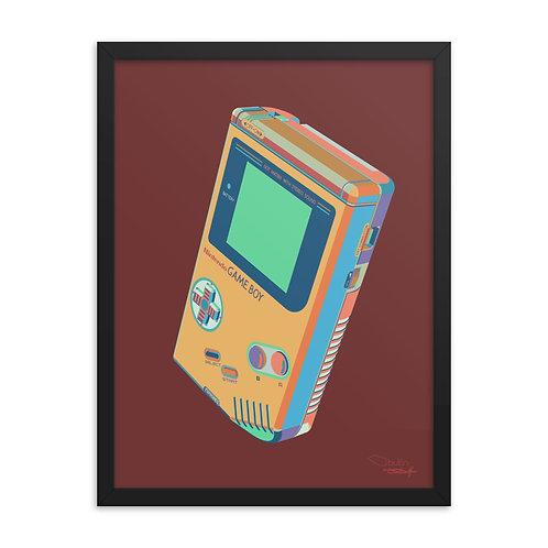 Nintendo GameBoy - Framed Print