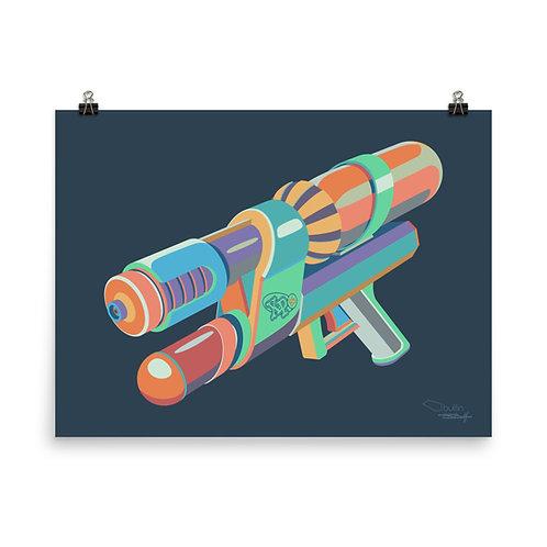 Water Gun - Print