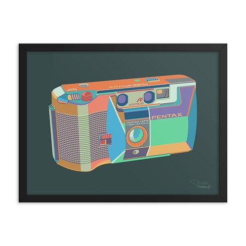 Pentax PC35AF - Framed Print