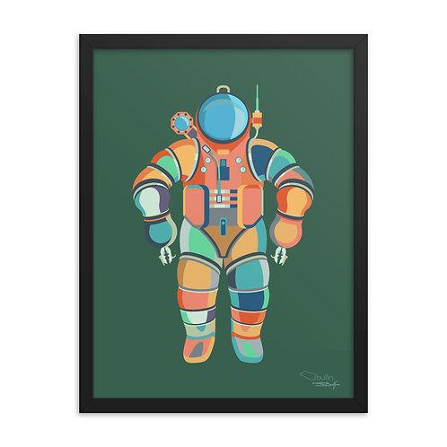 Diver - Framed Print