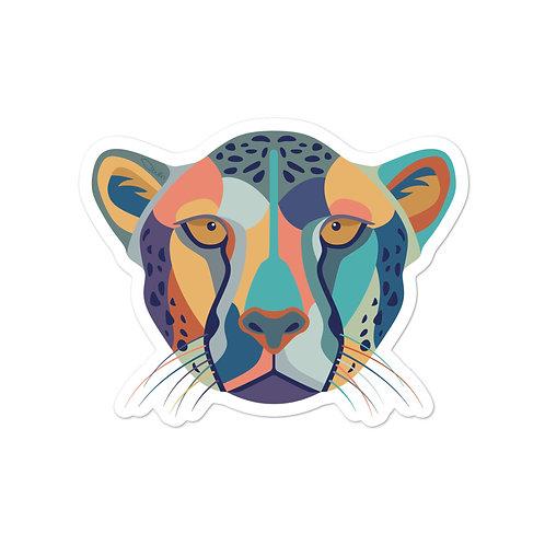 Cheetah - Vinyl Sticker