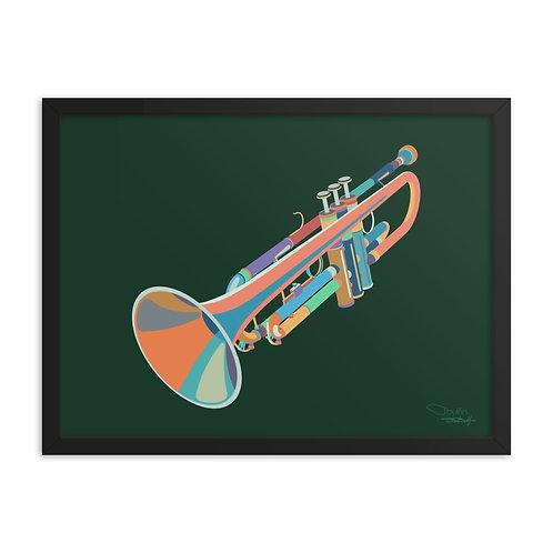 Trumpet - Framed Print