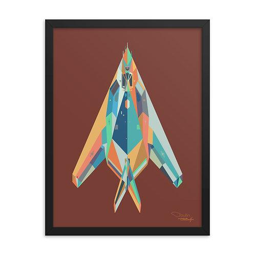 F117 Nighthawk - Framed Print