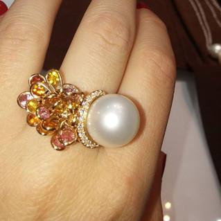 L'oro che scalda la perla