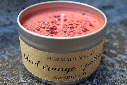 Blood Orange + Patchouli | 8 oz. soy candle