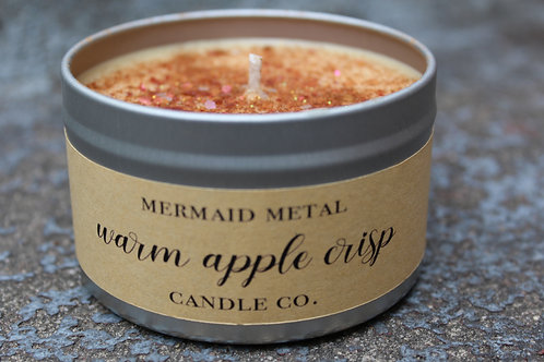 Warm Apple Crisp  |  8 oz. soy candle