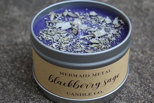 Blackberry Sage | 8 oz. soy candle