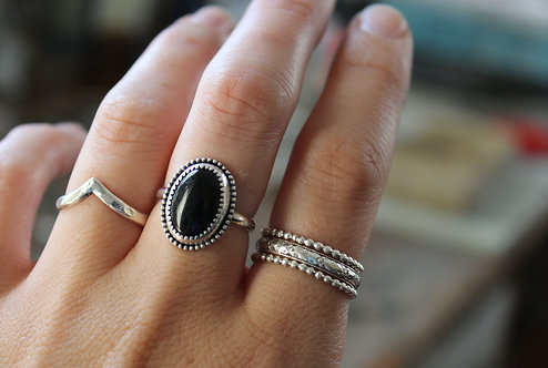 Create Your Own  |  Black Onyx Ring