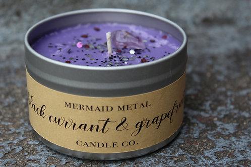 Black Currant + Grapefruit  |  8 oz. soy candle