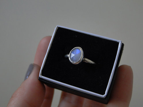 Create Your Own | Faceted Moonstone Ring