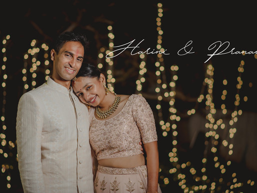 Harini & Pranav / Intimate Wedding / Radisson, Mahabalipuram