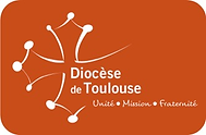 logo diocese de toulouse cartouche blriq