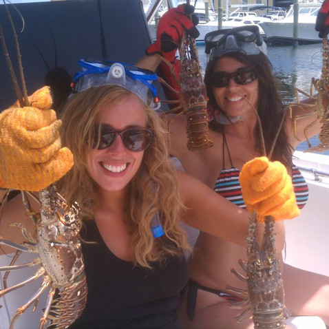 Lobster Hunt on the Reef