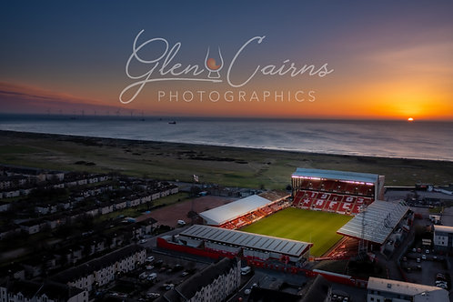 Pittodrie   Holy Grail Print