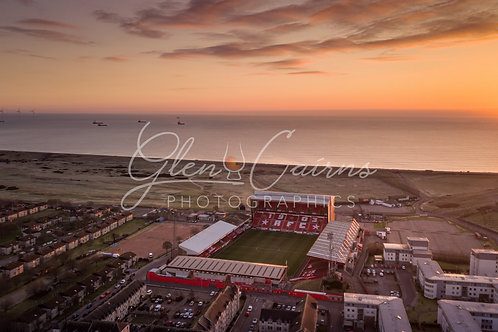 Pittodrie | A New Dawn Print