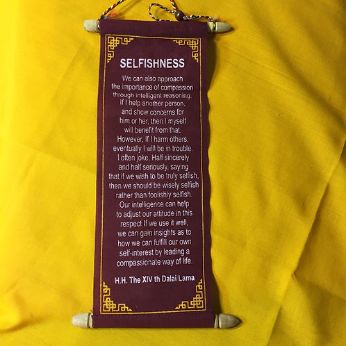 Selfishness Message (DL)