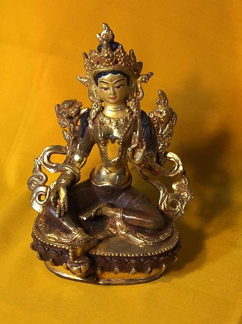 Green Tara (bronze)
