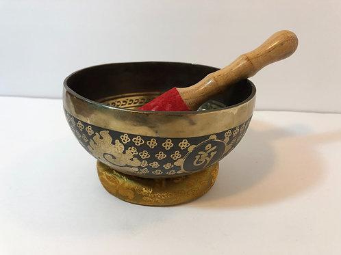 New Hand Hammered Tibetan Singing Bowl