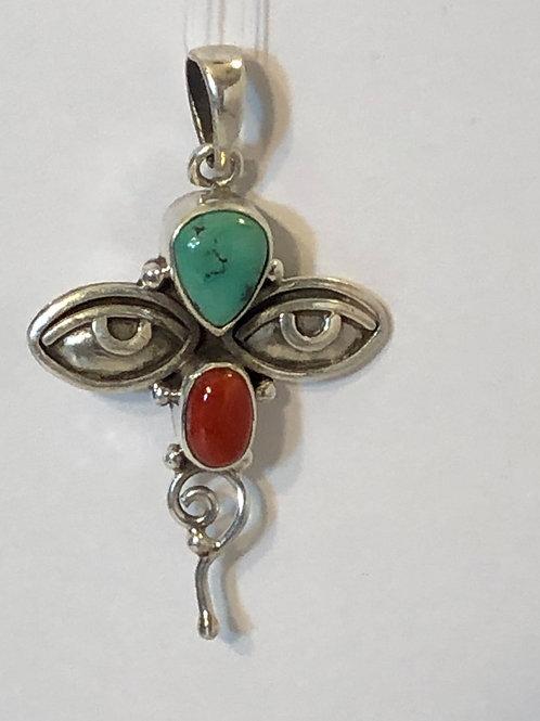 Sterling Silver Wisdom Eye Pendant