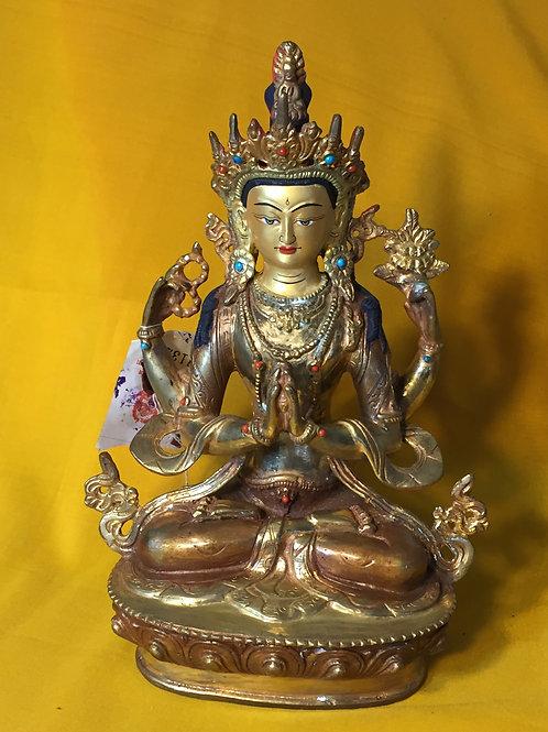 Buddha of Compassion (bronze)