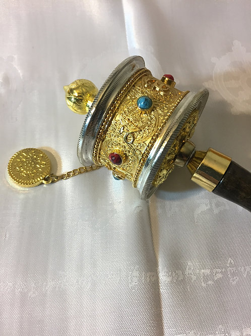 Gold Prayer Wheel