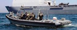 Scot Seats on Dutch Navy boarding RHIB