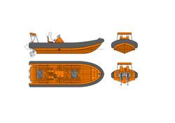OM750 Fast Rescue Craft