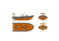 OM650 Fast Rescue Craft