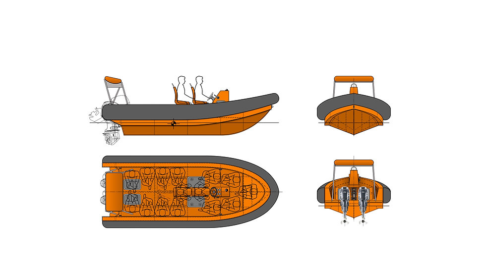 OM650 Fast Rescue Craft