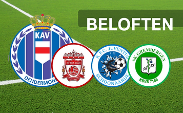 Beloften log website Dendermondse clubs