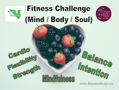 February Fitness Challenge 2021 - Focus on YOU.