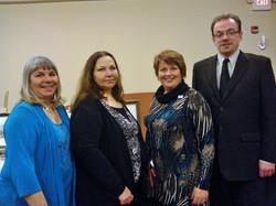 Board Members with Mayor