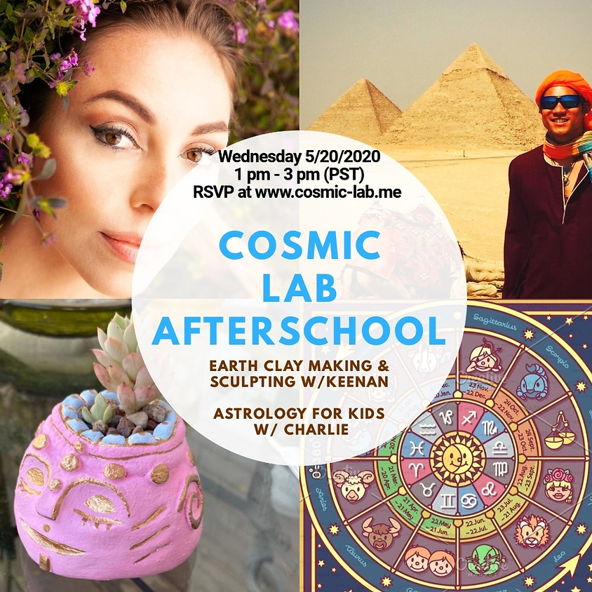 Weekly Wednesday Cosmic LAB for Kids - 5/20